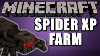 Minecraft | Regular Spider XP Farm (TUTORIAL) (WORKS ON XBOX)