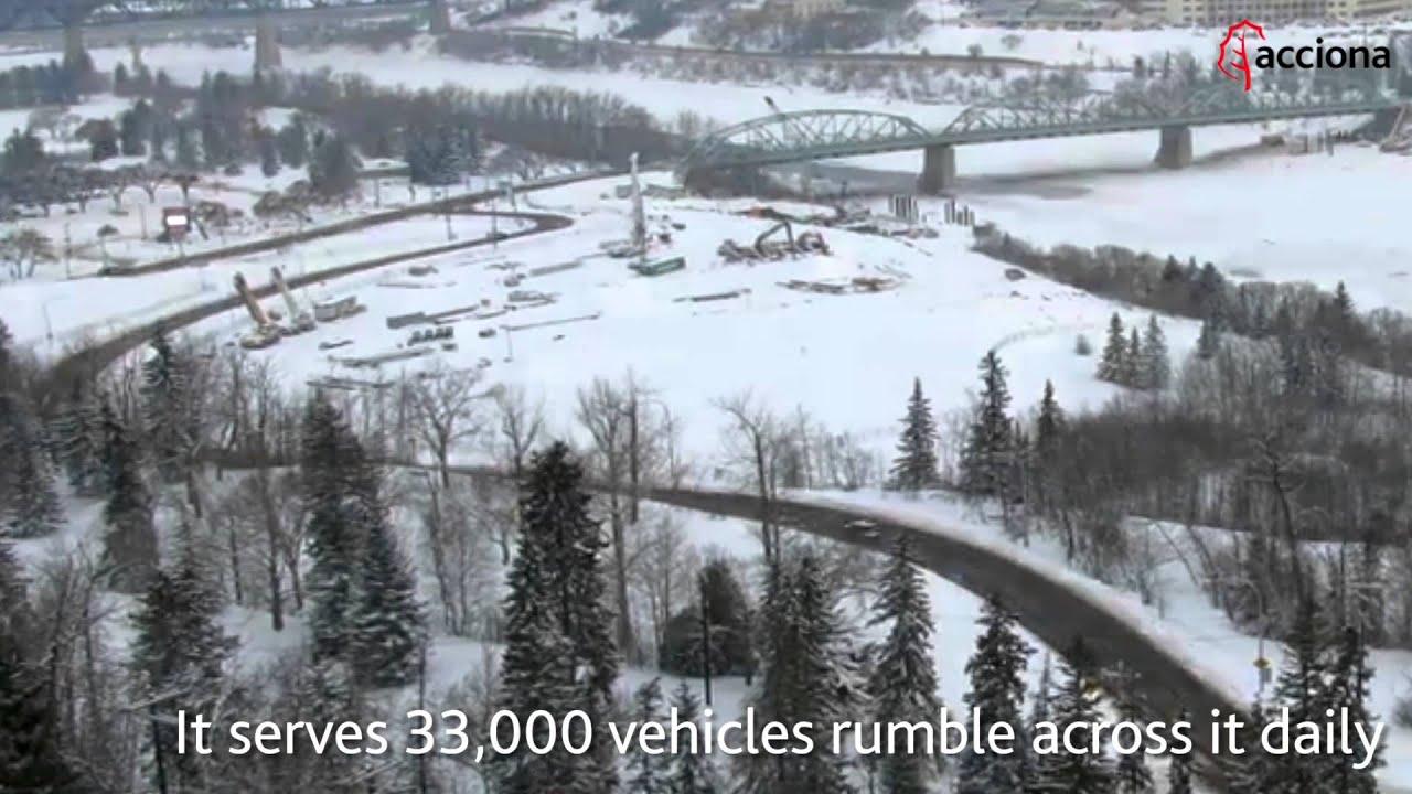 ACCIONA replaces the Walterdale Bridge in Canada