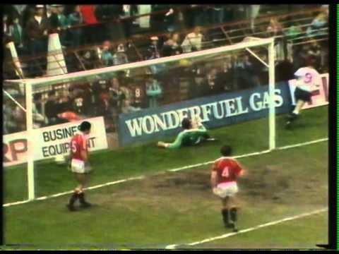 1989  Manchester Utd 0 Derby 2  Derby's goals with Radio Derby Commentary