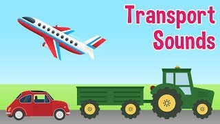 Transport Sounds for kids by Oxbridge Baby