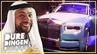 QUCEE en HUSHPUPPI checken MEEST EXCLUSIEVE ROLLS ROYCE ter WERELD: DURE DINGEN DUBAI | FIRST