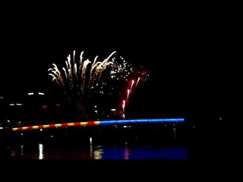 Little Rock, Ar River Market Fireworks Show