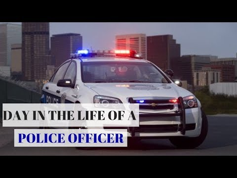DAY IN THE LIFE OF A POLICE OFFICER   DAD EDITION   COP VLOG