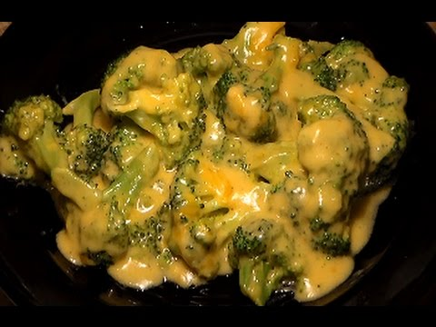 How To Make Cheesy Broccoli: Awesome Broccoli With Cheddar Cheese Sauce Recipe