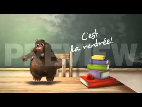 YouTube        - René la taupe - C'est la rentrée