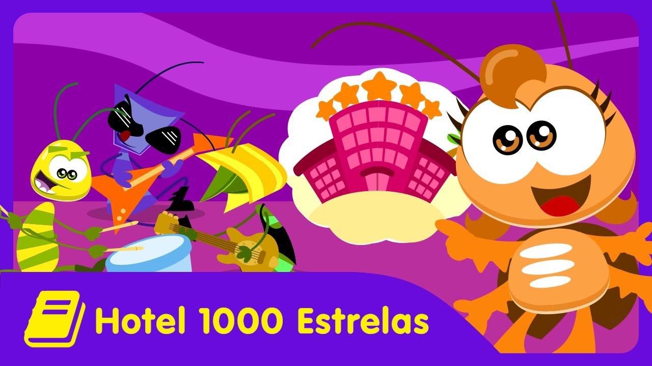 Galinha Pintadinha Mini - Historinha - Hotel 1000 Estrelas