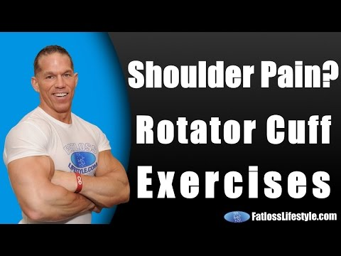 Rotator Cuff Exercises To Stop Shoulder Pain From Bench Press