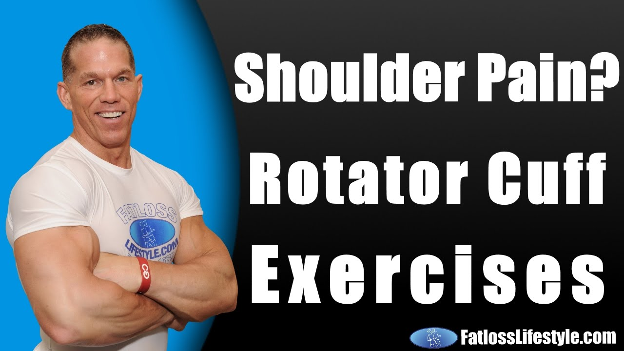 Sore Shoulder Bench Press Part - 24: Rotator Cuff Exercises To Stop Shoulder Pain From Bench Press - YouTube