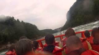 whirlpool jet boat tours on Niagara River