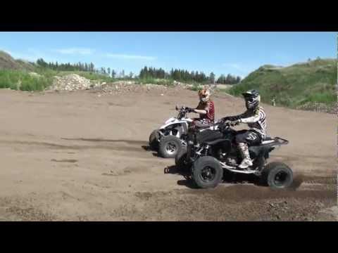 Honda TRX 450 VS Yamaha YFZ 450