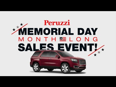Peruzzi Buick GMC – Memorial Day Month Long Sales Event! (Commercial 1)