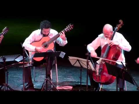 Yo-Yo Ma, Carlos Prieto & Brasil Guitar Duo: World Premiere of
