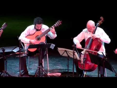 Yo-Yo Ma, Carlos Prieto & Brasil Guitar Duo: World Premiere of