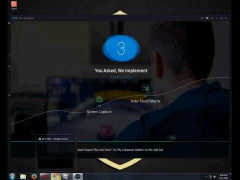 Cara paling Gampang Install OS Android Di Komputer