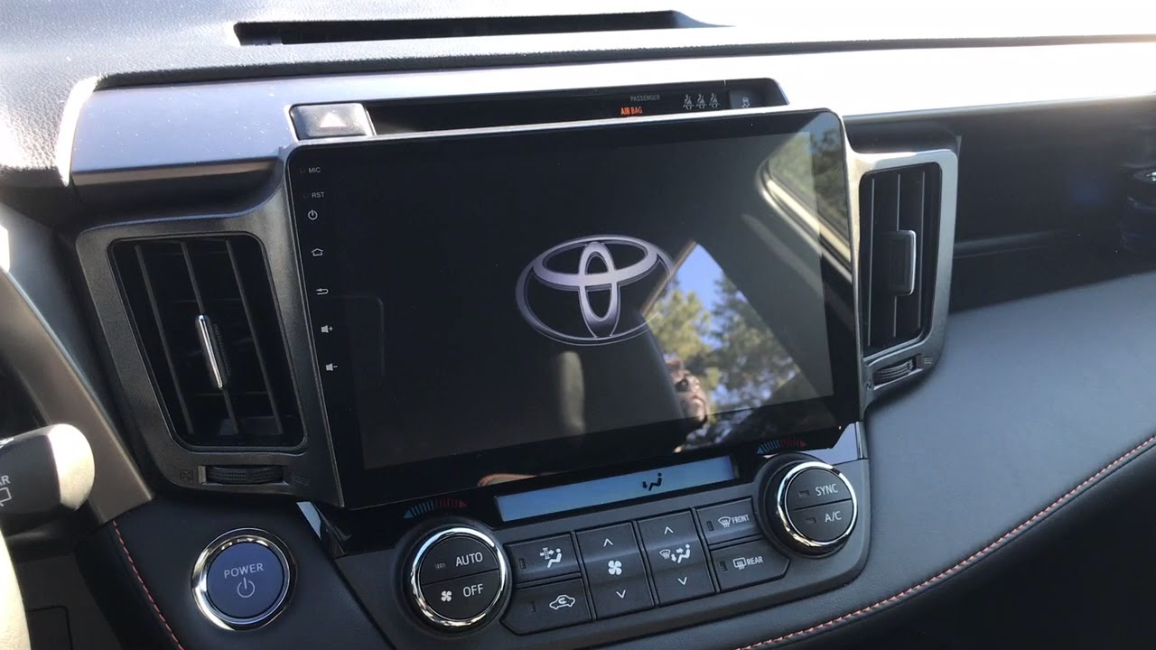 Android Head Unit 2018 Rav4 Hybird Boot Time