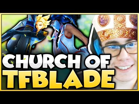 TFBlade | THE CHURCH OF TFBLADE // UNRANKED TO CHALLENGER DAY 2