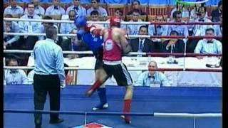 A 86 kg final Vezhevatov (Russia) vs Razani (Iran)