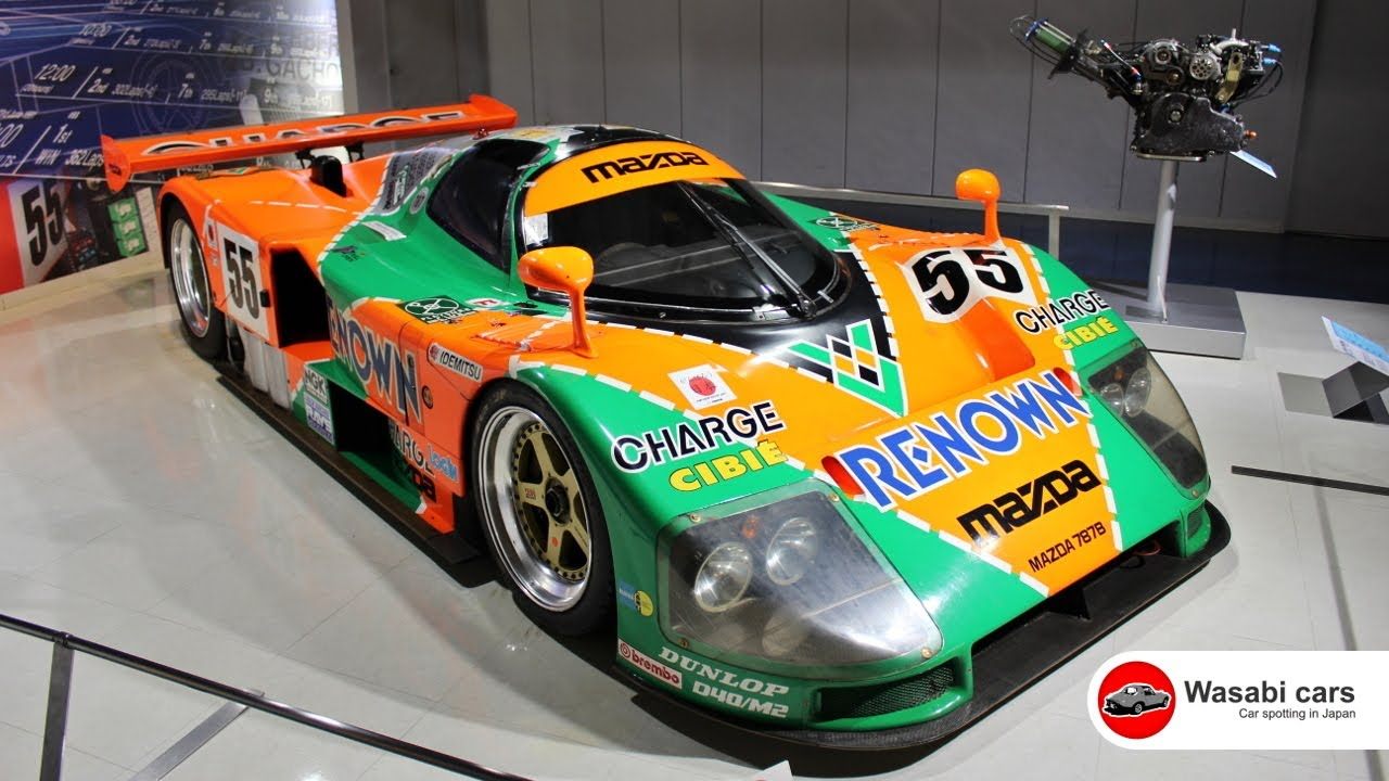 hiroshima trip mazda 787b le mans 24 hour winner youtube. Black Bedroom Furniture Sets. Home Design Ideas
