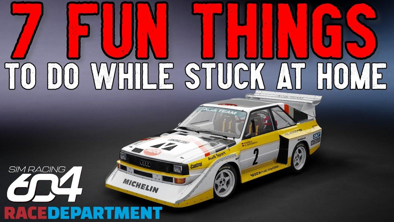Best things to do in sim racing