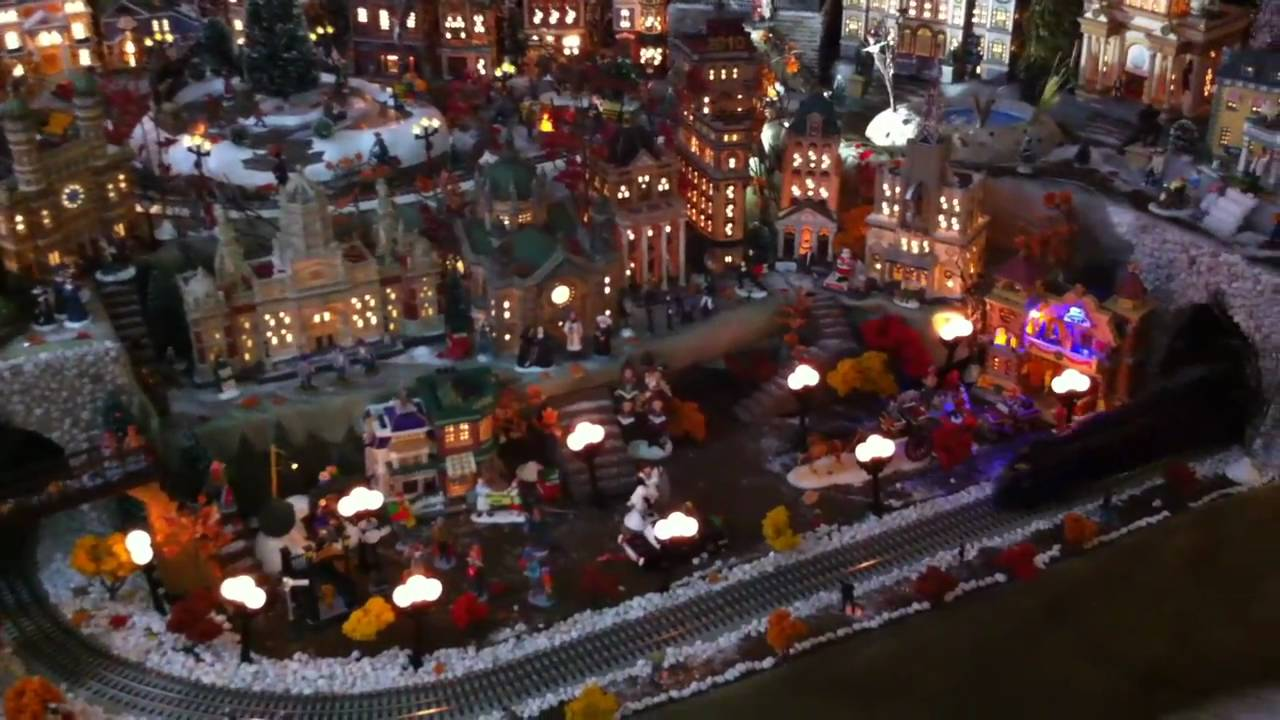 Miniature Extreme Christmas Village - YouTube
