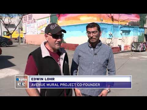 Effort To Bring Murals To City Heights Taps Youth Artists For Help