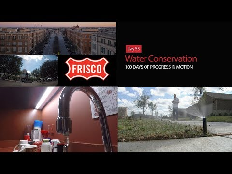 Day 55: Water Conservation - 100 Days of Progress in Motion