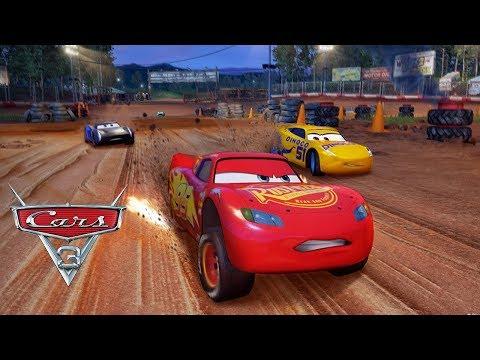 PIXAR Cars 3 Driven to Win Fabulous VS Lightning Mcqueen VS Jackson Storm & Cruz Ramirez