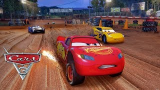 PIXAR Cars 3 Driven to Win Fabulous VS Lightning Mcqueen VS Jackson Storm & Cruz Ramirez