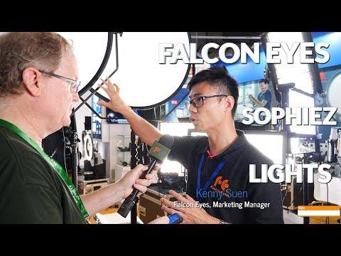 Falcon Eyes Sophiez SO-108TDX Led Lights - YouTube