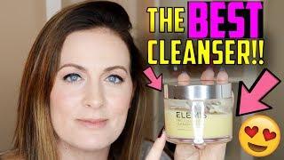 Elemis Pro Collagen Cleansing Balm - THE BEST CLEANSER! (2018) make tutorial | Claire Tutorials