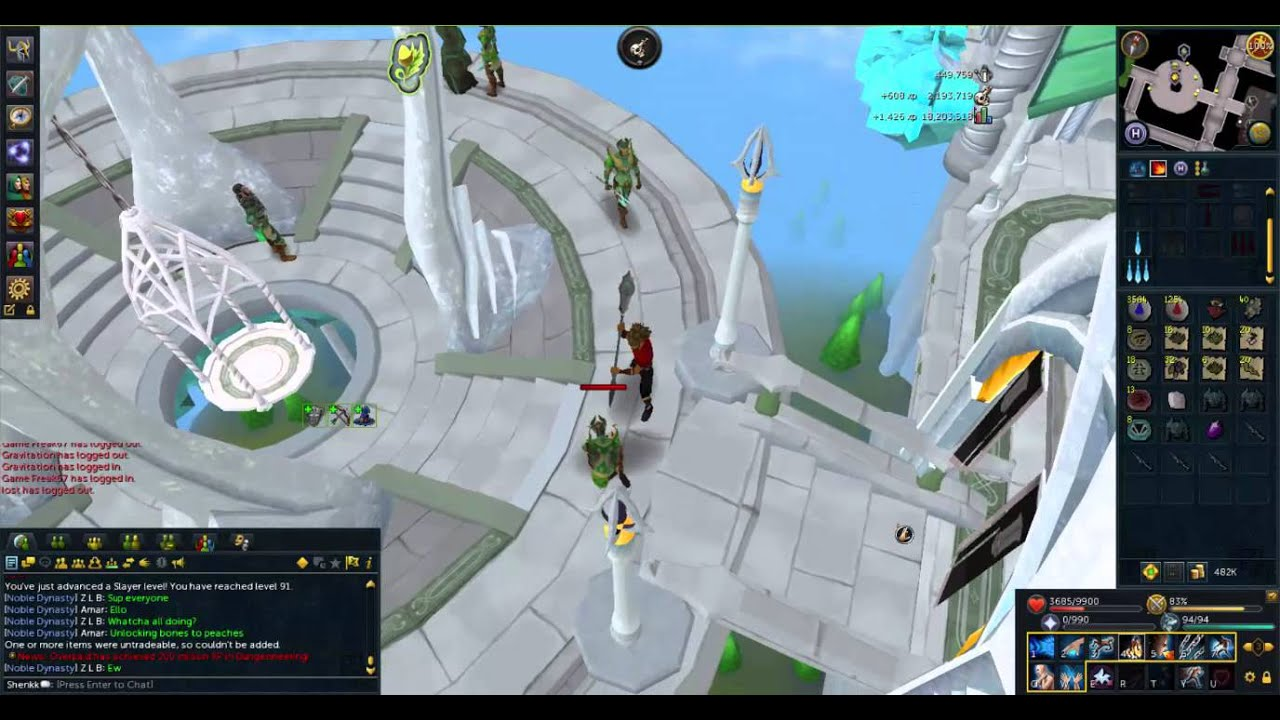 Runescape slayer guide elves easiest way youtube
