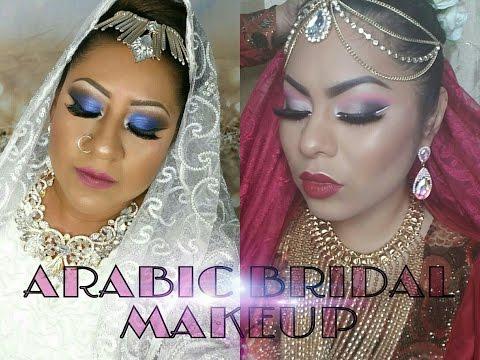 ARABIC BRIDAL MAKEUP TUTORIAL  colaboración con mi amiga piku♤
