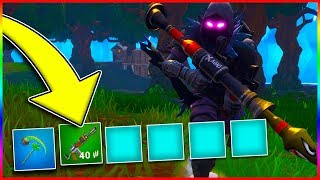 WINNING BY ONLY USING 1 INVENTORY SLOT?! Fortnite Battle Royale