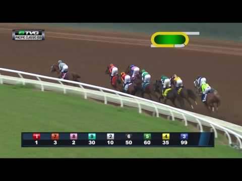 RACE REPLAY: 2016 TVG Pacific Classic Featuring California Chrome