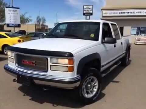 used 1999 gmc sierra classic 2500 crew cab 4wd sl for sale in brooks ab youtube used 1999 gmc sierra classic 2500 crew cab 4wd sl for sale in brooks ab