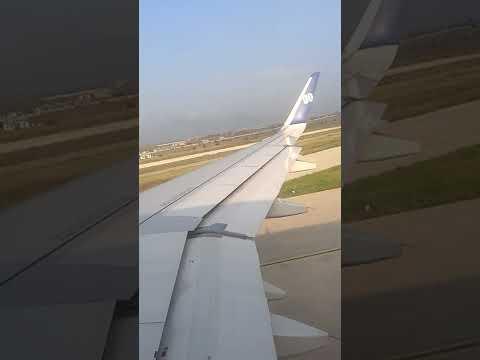 go air takeoff at srinagar airport