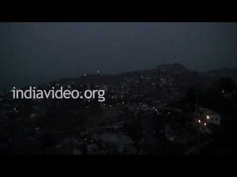 Night View of Aizawl, Mizoram