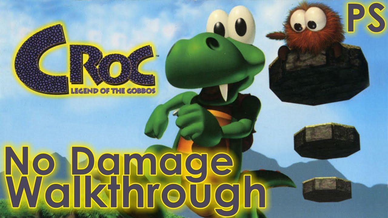 Download Croc: Legend of the Gobbos Walkthrough [No Damage]