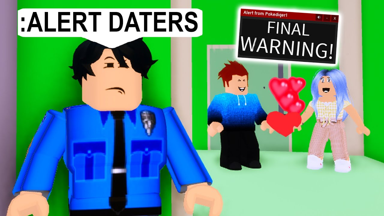 ONLINE DATER Wouldn't Stop Dating.. I Had To Scare Him! (Roblox)