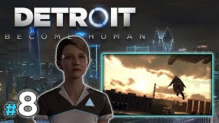 "DETROIT: Become Human [PS4] #8 - ""Skok wiary"""