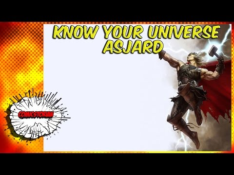 Asgard And The Ten Realms(Thor) - Know Your Universe
