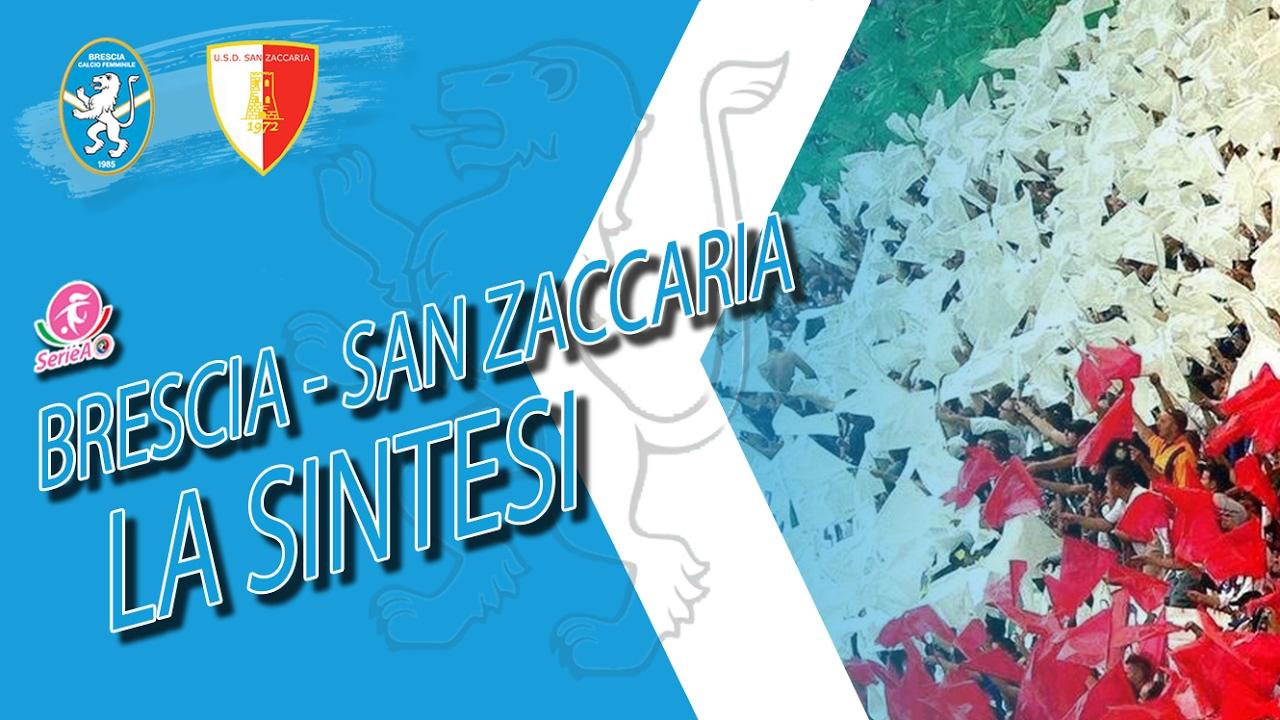 Brescia-San Zaccaria, the synthesis