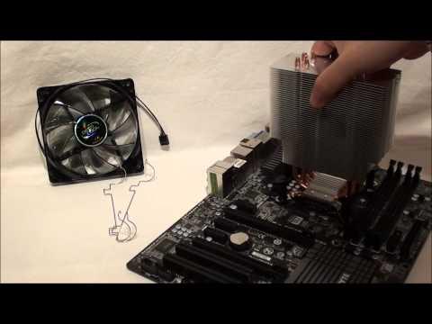 Deepcool GAMMAXX 400: Intel LGA 1155 / LGA 1156 installation