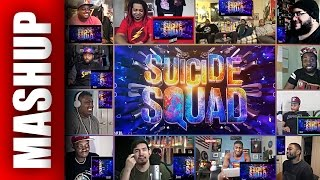 SUICIDE SQUAD Honest Trailer Reactions Mashup