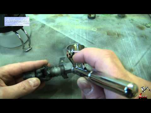Airbrush. What, How & Why - Part 2. Double action airbrush - Neo for Iwata. Tutorial