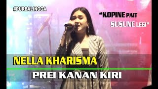 "Gambar cover Nella Kharisma ""KOPINE PAIT SUSUNE LEGI"" Prei Kanan Kiri OM Lagista LIVE Purbalingga 8 Desember 2018"