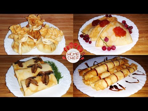 4 EASY WAYS TO DELICIOUS CREPE FILLINGS