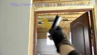 Как установить дверь- нестандартный способ фиксации коробки(Как установить дверь?- этим вопросом задаются многие, существует три способа установки дверной коробки:..., 2015-05-15T17:26:33.000Z)
