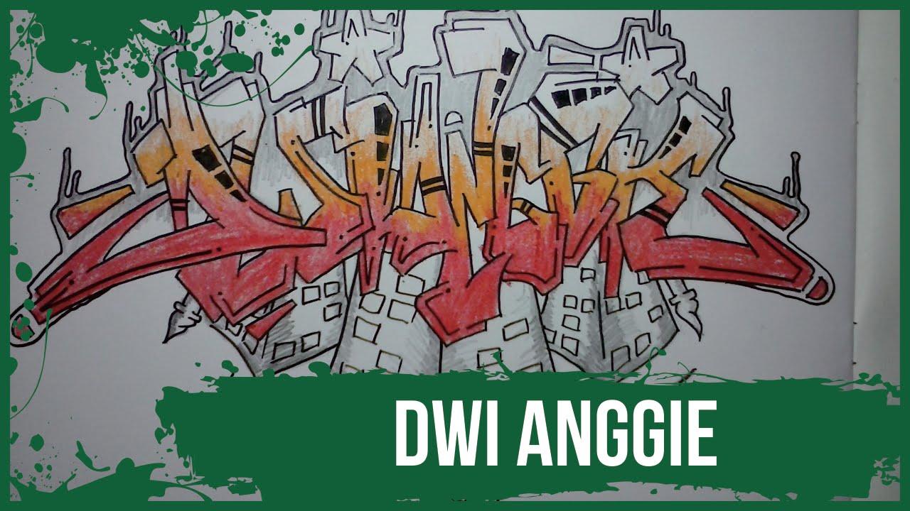 How To Make Graffiti Name Dwi Anggie In Graffiti Graffitiprims