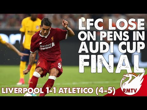 Liverpool Lose Audi Cup on Penalties | Liverpool v Atletico 1-1 | Uncensored Match Reaction LIVE